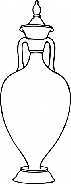 Clipart - Greek amphora 3