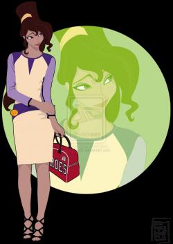 Disney University Student - Megara. Meg is the Cheerleader of HEROES ...