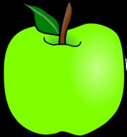 Green Delicious Apple Clip Art at Clker.com - vector clip art online ...