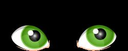 Green Female Eyes PNG Clip Art - Best WEB Clipart