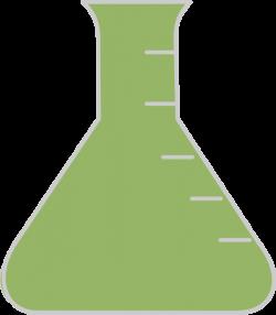 Green Beaker Clip Art at Clker.com - vector clip art online, royalty ...