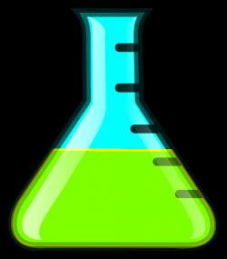 Green Flask Clip Art at Clker.com - vector clip art online, royalty ...