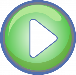Clipart - Play Button Green with Blue Border
