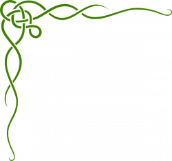 Green Irish Border Clip Art at Clker.com - vector clip art online ...