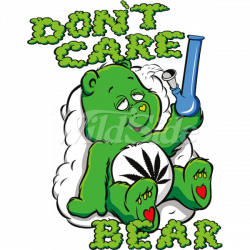 DON'T CARE BEAR & BONG   The Wild Side