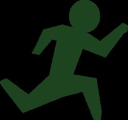 Running Man Race Green Clip Art at Clker.com - vector clip art ...