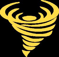 Gold Tornado Clip Art at Clker.com - vector clip art online, royalty ...