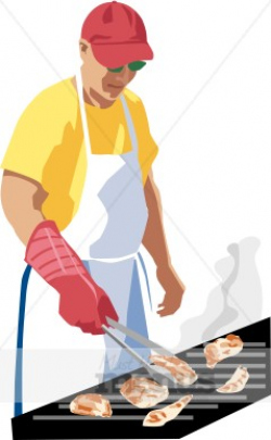 Summer Grill Clipart | Barbeque Clipart