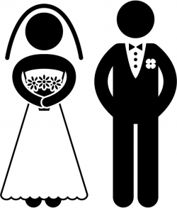 Image result for bride and groom clipart   wedding ideas   Pinterest ...