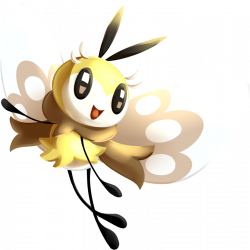 Pokédex entry for #743 Ribombee containing stats, moves learned ...