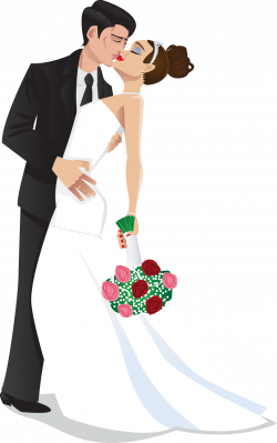 28+ Collection of Wedding Groom And Bride Clipart | High quality ...