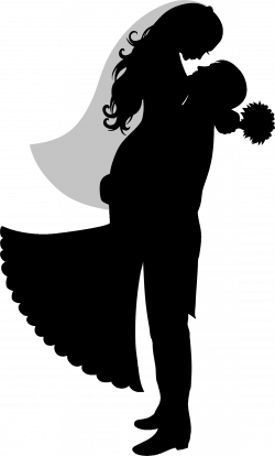 Bride And Groom Silhouette by @GDJ, Bride And Groom Silhouette from ...