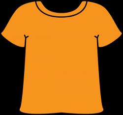 Orange Tshirt | เครื่องแต่งกาย | Pinterest | Clip art, Color mixing ...