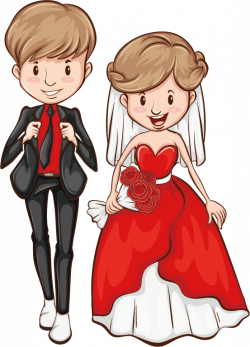 Newlywed Marriage Stock photography Clip art - The bride and groom ...