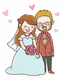 Free Digital Stamp: Bride and Groom! - Free Pretty Things For You