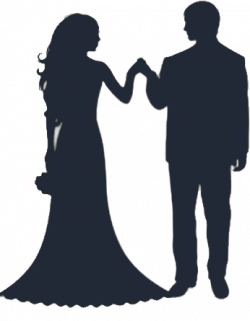 22+ Bride And Groom Silhouette Clip Art | ClipartLook