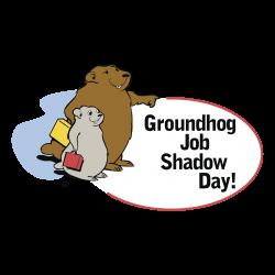Groundhog Job Shadow Day! Logo PNG Transparent & SVG Vector ...