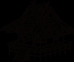 Japan House Drawing Clip art - Line hut 1539*1298 transprent Png ...