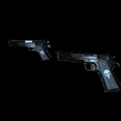 The Punisher Guns by sirarturo on DeviantArt