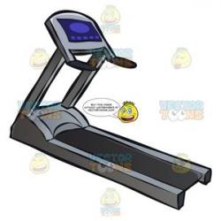 A Gym Treadmill