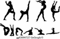 Gymnastics Clip Art - Royalty Free - GoGraph