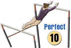Gymnastics uneven bars clipart - Clip Art Library