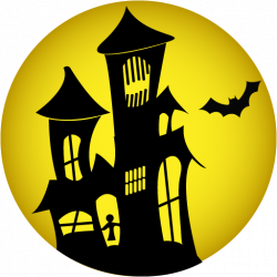 Halloween House PNG HD   PNG Mart