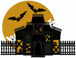 Halloween House PNG Transparent Picture   PNG Mart