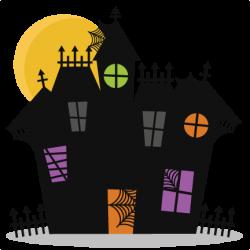 Haunted House SVG cutting files bat svg cut file halloween cute ...