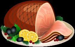 Christmas Ham Transparent PNG Clip Art Image | Gallery Yopriceville ...
