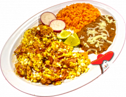 Downtown Sacramento Linda's Mexican Food- Jamon con Huevo