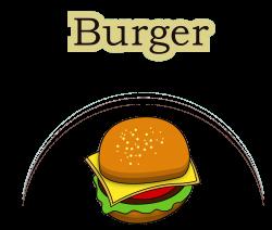Hamburger button Fast food McDonalds Big Mac Menu - Real Burger 4134 ...