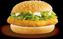 McDonald's McChicken Burger transparent PNG - StickPNG