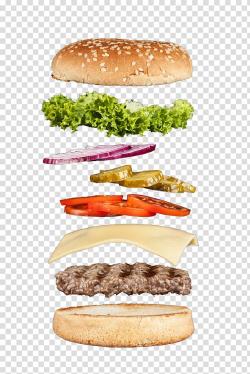 Hamburger Cheeseburger Whopper Buffalo burger Slider ...