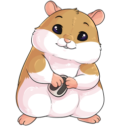 Blissful Hamster by Shadowpelt -- Fur Affinity [dot] net