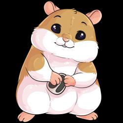 Blissful Hamster by Shadowpelt -- Fur Affinity [dot] net