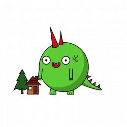 HI KAIJU #kaiju #cute #kawaii #cute #monster #cutemonster #gif ...