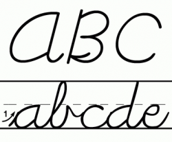 Learning Cursive Handwriting | Clipart Panda – Free Clipart Images ...