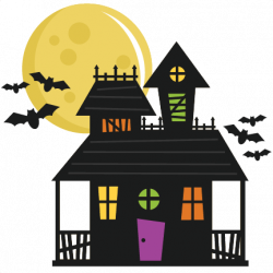 Haunted House SVG cut file haunted house svg file haunted house cut ...