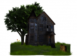 Haunted House Png by Moonglowlilly on DeviantArt