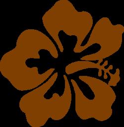 Brown Hibiscus Clip Art at Clker.com - vector clip art online ...