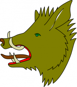 Green Boar Clip Art at Clker.com - vector clip art online, royalty ...