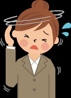 Clipart - Headache (#1)