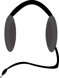 Public Domain Clip Art Image | Headphones | ID: 13528621213475 ...