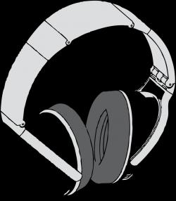 Public Domain Clip Art Image | headphones 1 | ID: 13957433412127 ...