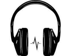 Headphones clip art | Etsy