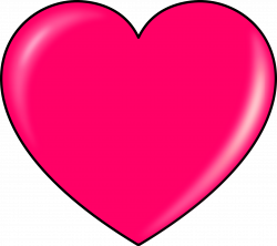 Pink Heart Clipart transparent PNG - StickPNG
