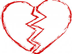 Heat Clipart Heart Broken - Broken Heart Png, Transparent ...