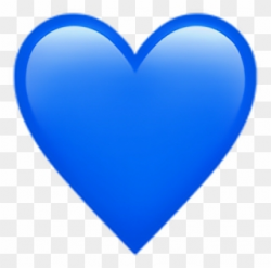 Discover The Coolest Blueheartemoji - Iphone Heart Emojis ...