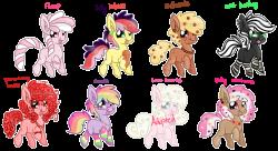 Sweet Pony Adopts [7/8 open] by Koalacubes on DeviantArt | cliparts ...